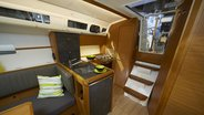 Sunsail 34 interior