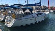 Sunsail Oceanis 43 moored