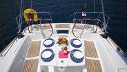 Sunsail Oceanis 43 cockpit