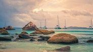 Praslin Island, Anse Lazio